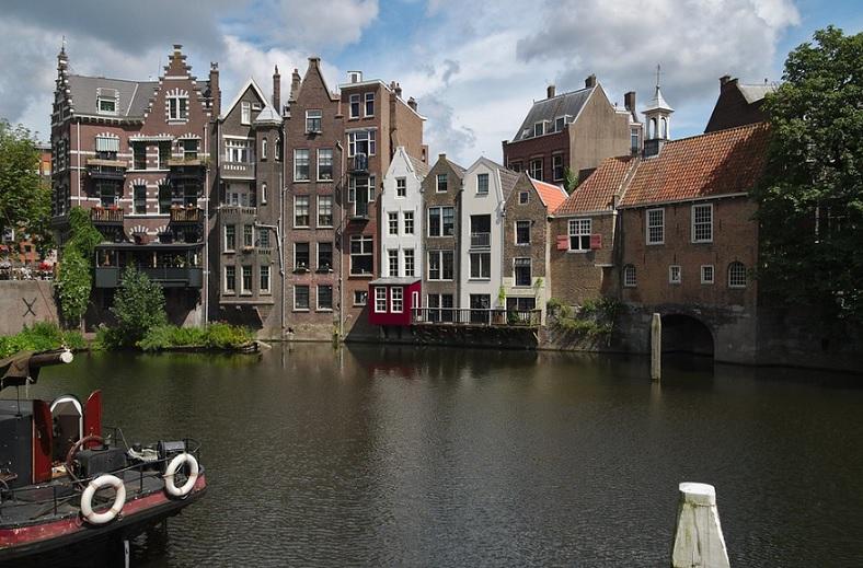 Rotterdam en Holanda